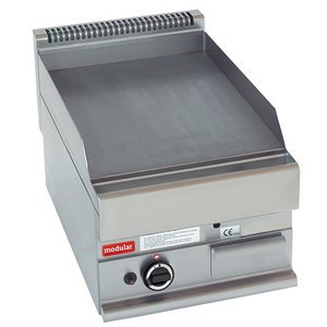 Modular 650 Modular griddle - Gas - Smooth - 40x65x (h) 28cm - 5.7 kW