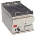 Modular Lava Stone Grill 650 Modular - Propane - Smooth - 40x65x (h) 28cm - 5 kW