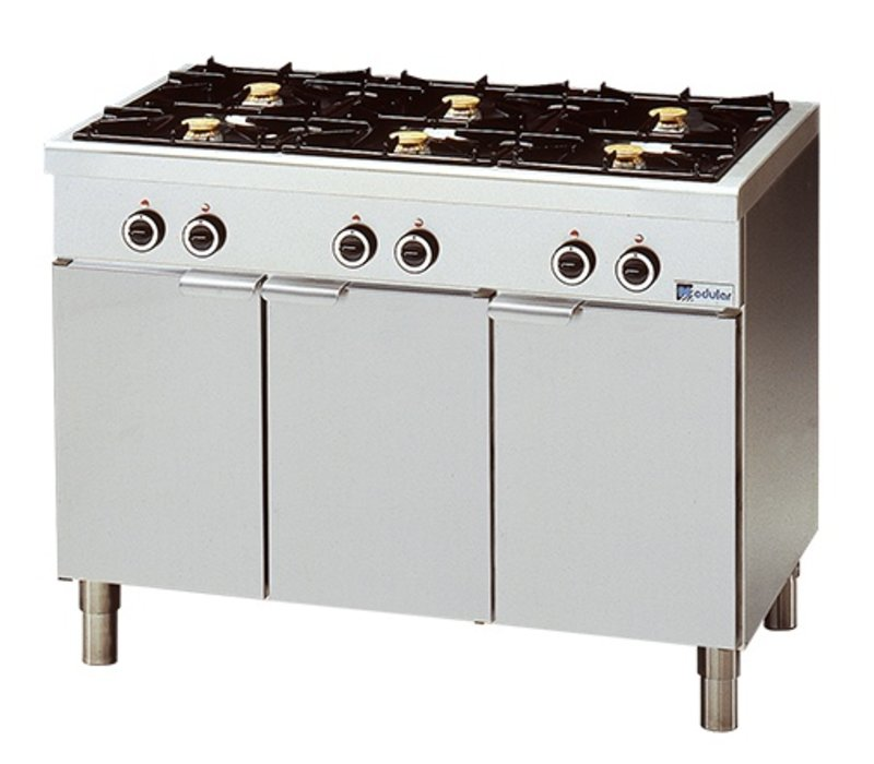 Modular Stove 650 Modular - Gas - 6 Pits With Mount - 110x65x (h) 85cm - 25.8 kW