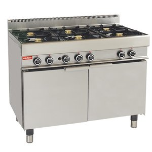 Modular Stove 650 Modular - Gas - 6 Pits With Chubby Gasoven - 110x65x (h) 85cm - 33.3 kW