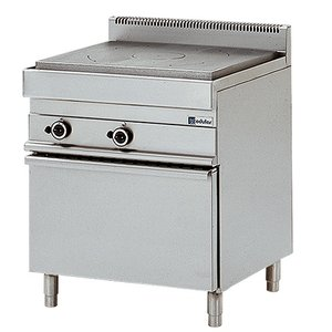Modular Platenfornuis - 650 Modular - Gas - Met Oven - 70x65x(h)85cm - 13,2 kW