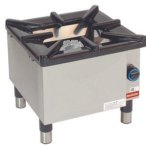 Modular Hokker - Gas - 55x55x (h) 50 cm - 8,8 kW