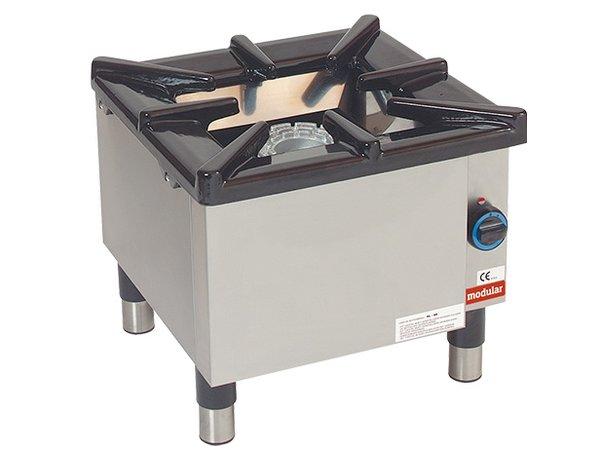 Modular Hokker - Gas - 55x55x (h) 50cm - 8.8 kW