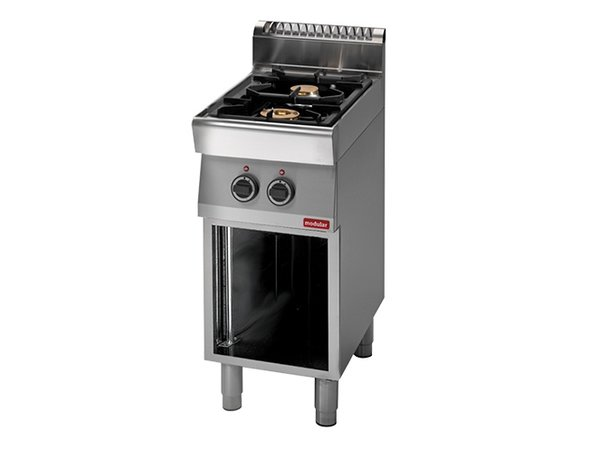 Modular 700 Modular stove - gas - 2 Pits - With Open Frame - 40x70x (h) 85cm - 9.2 kW