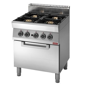 Modular 700 Modular stove - gas - 4 Burners - With Gas Oven - 70x70x (h) 85cm - 23.4 kW