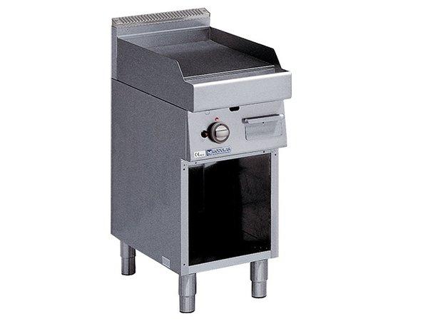 Modular Bakplaat 700 Modular - Gas - Glad - Met Onderstel - 40x70x(h)85cm - 5,7 kW