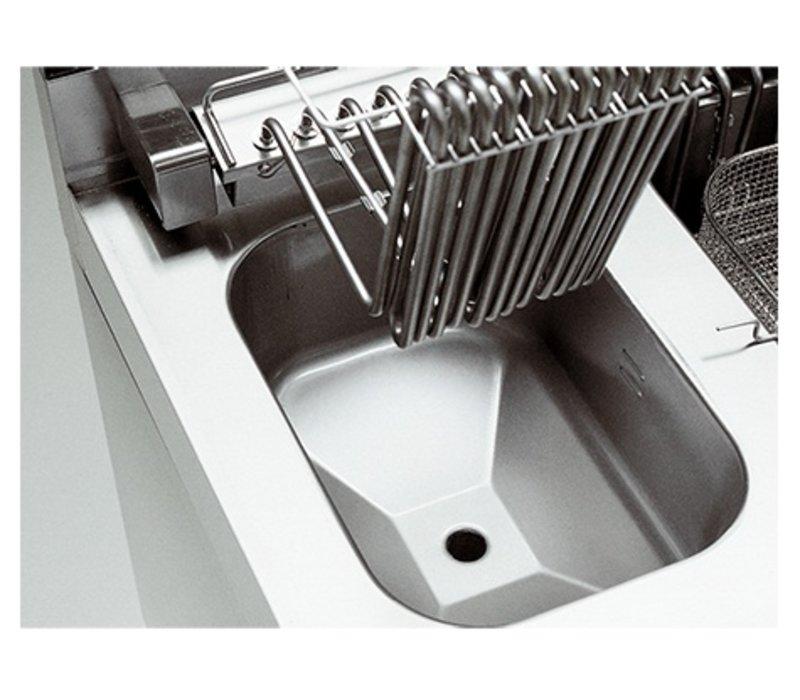Modular Fritteuse | Elektrizität | 700 Modular | 10 Liter | 400V | 7,5 kW | Mit Berg | 400x700x (H) 850mm