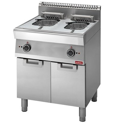 Modular fryer | electric | 700 Modular | 2 x 10 Liter | 400V | 15kW | With Mount | 700x700x (H) 850mm