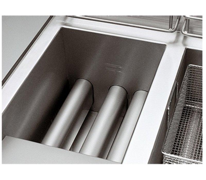 Modular Fritteuse | Gas | 700 Modular | 2x13 Liter | 20,4kW | Mit Berg | 70x70x (h) 85cm