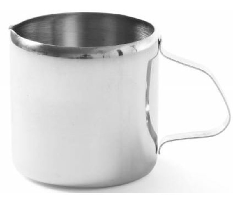 Hendi Roomkannetje | RVS | 0,15 Liter | 60x60mm