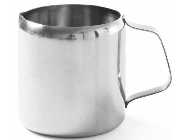 Hendi Roomkannetje | Edelstahl | 0,30 Liter | 75x75mm