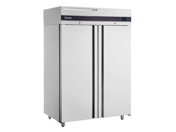 Kühlschrank Xxl Edelstahl : Xxlselect catering kühlschrank edelstahl doppel liter