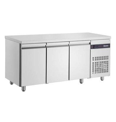 XXLselect Coole Workbench - RVS - 3 Doors - 421 Liter - 351W - 179x70x (h) 87cm