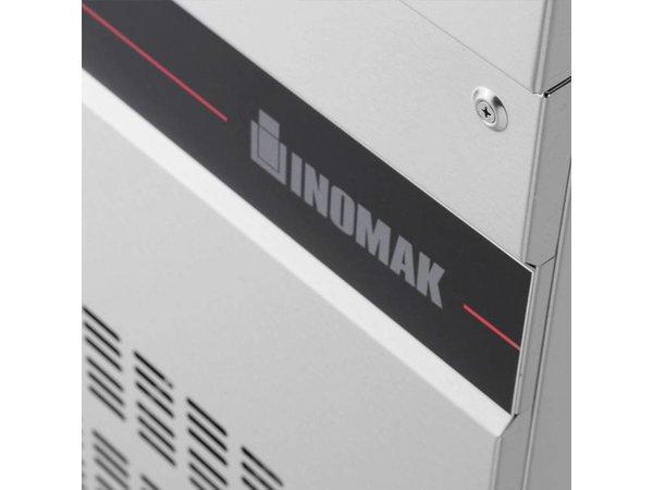 XXLselect Cool Workbench - RVS - 4 Doors - 571 Liter - 440W - 224x70x (h) 87cm