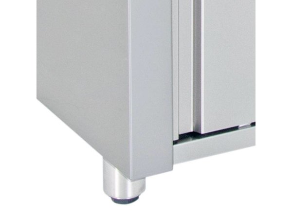 XXLselect Signs Warmer Warming Cabinet - Stainless steel - 1450 W - 140x70x (h) 86cm