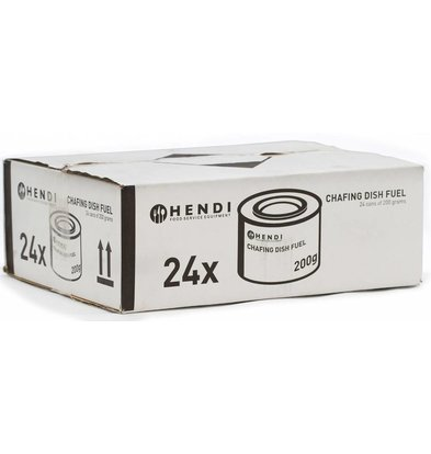Hendi Hendi Fire Pasta - 24 cans - 3 hour burn time