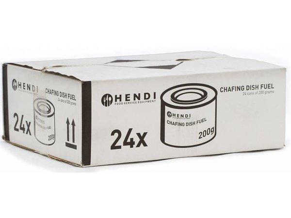 Hendi Hendi Brand Pasta - 24 Dosen - 3 Stunden Brenndauer