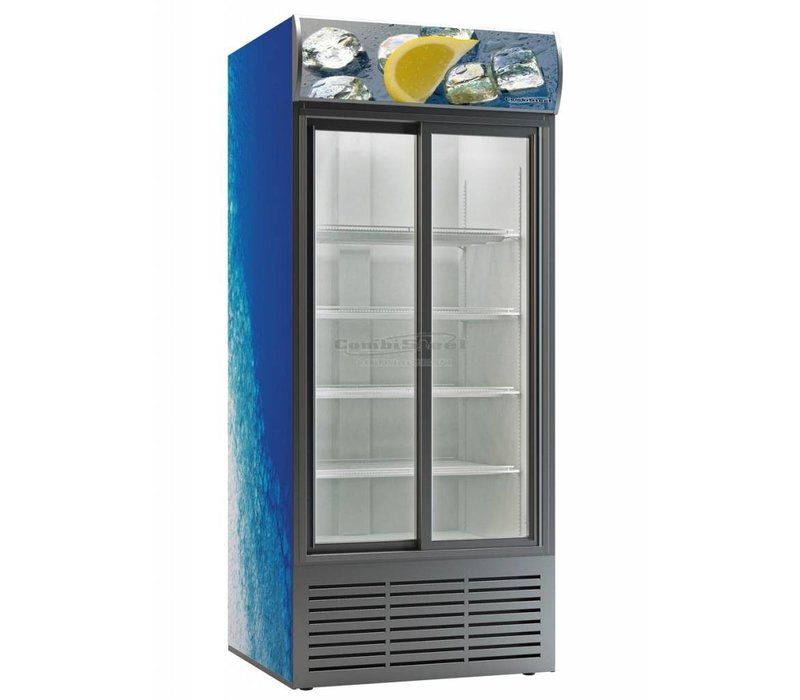 Combisteel Horeca Kühlschrank Dieptekoeling- mit Glastüren - 852 Liter - 110x82x (h) 200 cm