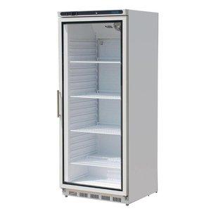 Polar Horeca Kühlschrank mit Glastür - Beleuchtung - 600 Liter - 77x69x (h) 189cm