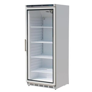 Polar Horeca refrigerator with Glass Door - Lighting - 600 Liter - 77x69x (h) 189cm
