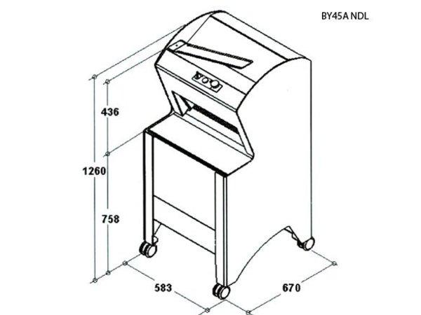 Sofinor Brotschneidemaschine   Black   Automatik   Bread via Rear   550W