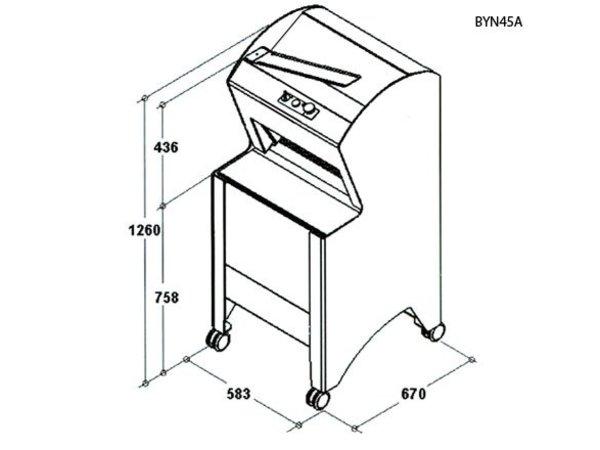 Sofinor Broodsnijmachine | Wit | Automatisch | Brood via Bovenzijde | 550W