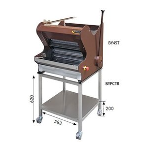 Sofinor Bread slicer | Brown benchtop | Semi-automatic | Bread via Top | 490W