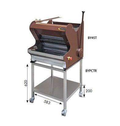 Sofinor Brotschneidemaschine | Brown Benchtop | Halbautomatische | Brot über Top | 490W