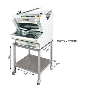 Sofinor Broodsnijmachine | Wit Tafelmodel | Automatisch | Brood via Bovenzijde | 550W