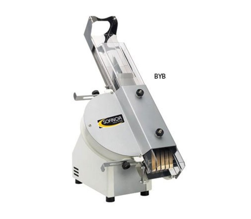 Sofinor Brotschneidemaschine | Für Baguettes | Tischplatte | 370W