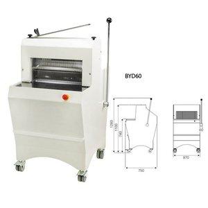 Sofinor Brotschneidemaschine | Halbautomatische | Bread Dicke 11-16mm | 490W