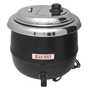 Bistro Elektrische Suppenkessel 13 Liter Schwarz - Extra Large
