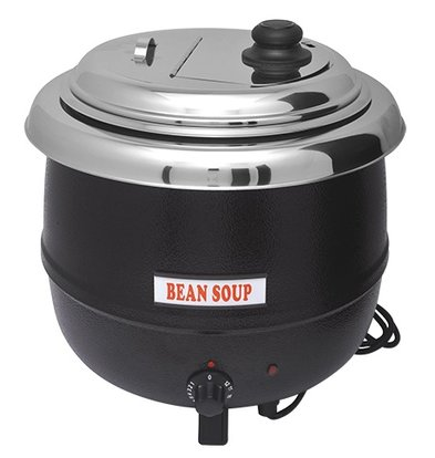 Bistro Elektrische Soepketel 13 Liter Zwart - Extra Groot