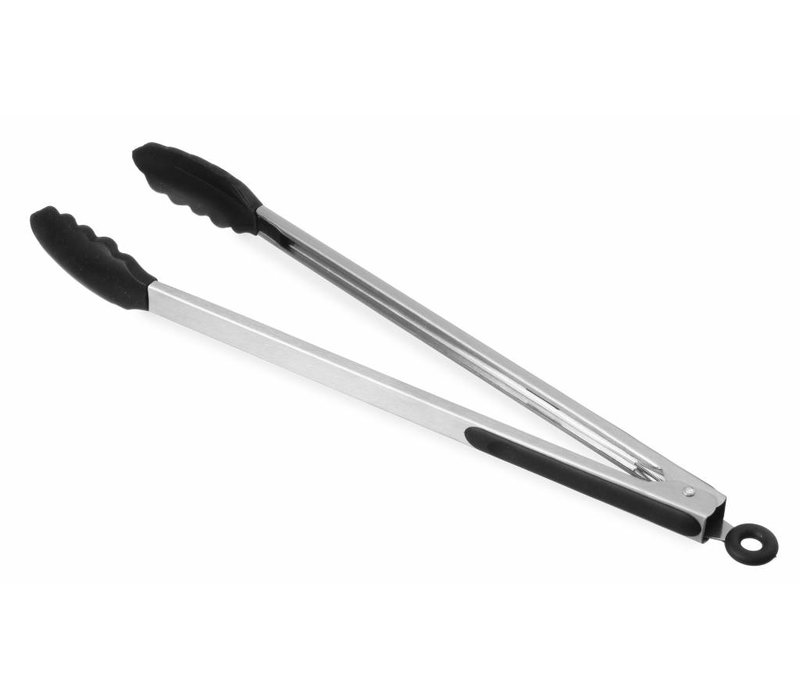 Hendi Zangen Soft Grip | mit Hittebestenidige Silikon Bek | (L) 400 mm