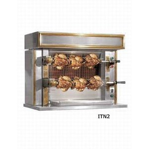 Sofinor Chicken Grill 2 Spits - Gas - 870x530x (h) 722mm - 6 Hühner
