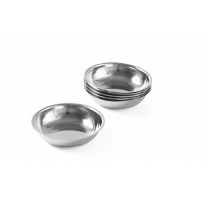 Hendi Sugar / Cream Bowl Stainless Steel | Price per 6 Pieces | Ø65mm