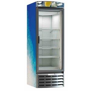 XXLselect Horeca Koelkast met Glazen deur Dieptekoeling - 584 Liter - 67.5x83.2x(h)198.9 cm