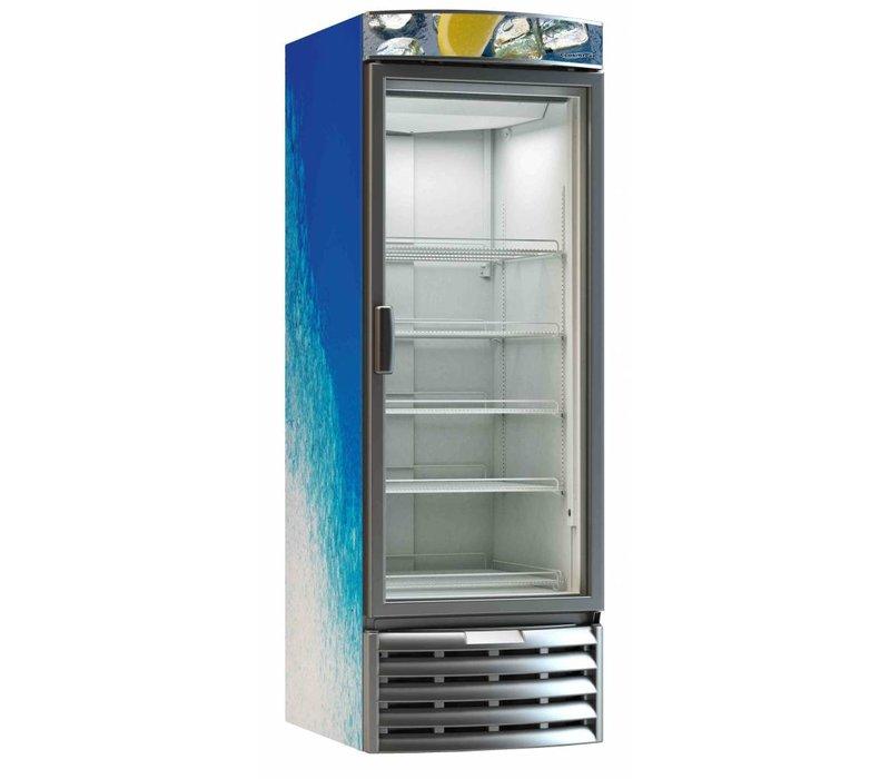 Combisteel Horeca Kühlschrank mit Glastür Kühlung Tiefe - 584 Liter - 67.5x83.2x (h) 198,9 cm