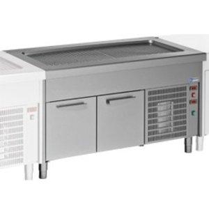 Diamond Heatsink Top Element - 4x GN 1/1 - Kühlmöbel - 0,5 kW - 1500x800x (h) 900mm