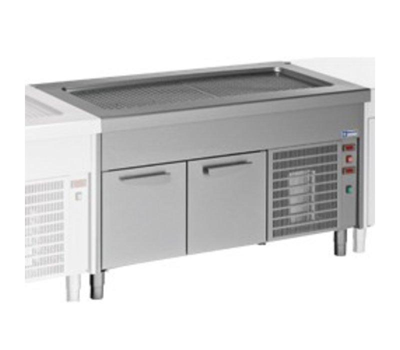 Diamond Heatsink Top Element - 4x GN 1/1 - Refrigerated Cabinet - 0.5 kW - 1500x800x (h) 900mm