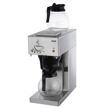 Saro Koffiemachine Economic RVS | 2x1,8 Liter / 24 kopjes | 205x385x(H)435mm