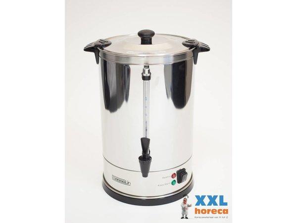 Casselin Doppelwandigen Edelstahlkocher | Keine Filter benötigt | Ø270x (H) 440mm | 100-110 Cups | 15 Liter