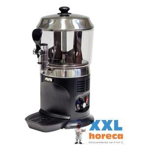 Saro Warm Chocolate Milk chocolate milk dispenser - 5 liters - Black - XXL OFFER!