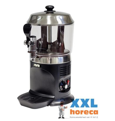 Saro Chocomelk Dispenser for Hot Chocomel - 5 liters - Black - XXL OFFER!