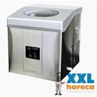 Saro Eismaschine - Edelstahlgehäuse - drei einstellbaren Größen - 15 kg / 24h - 2 Jahre Garantie