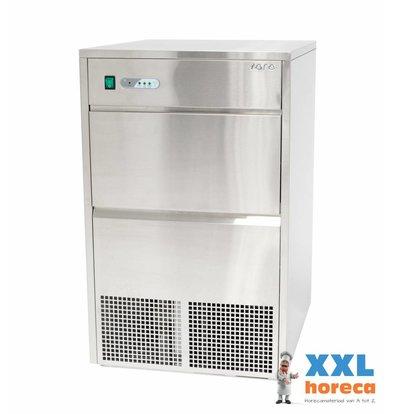 Saro Eiswürfelbereiter - 45 kg / 24h - 10 kg Lagercontainer - 2 Jahre Garantie - EMPFOHLEN!