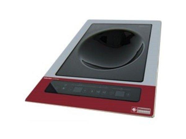 Diamond Induktions-Platte | WOK Installation | 6 kW | 400V | 390x430x (H) 160mm