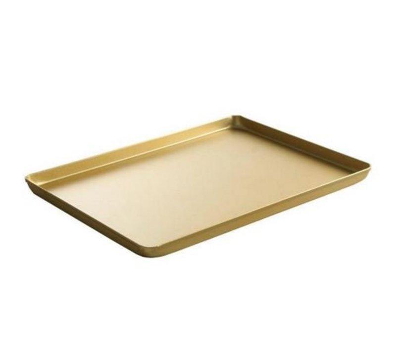 Hendi Tray Aluminium   Goud Kleurig   600x400x(H)20mm