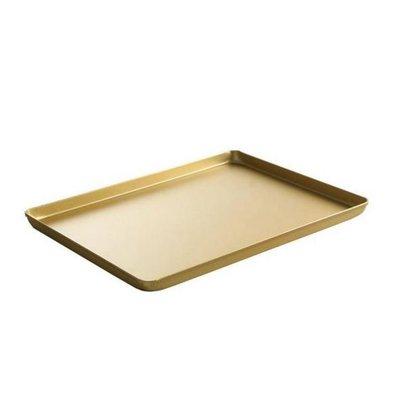 Hendi Tray Aluminium | Goud Kleurig | 400x300x(H)20mm