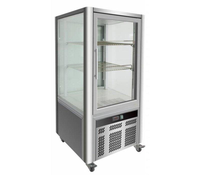 Combisteel Pastry Display Level 2 - 268 Liter - 70x70x (h) 130cm
